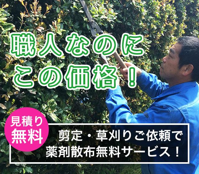 大阪の植木屋