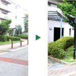 草刈りや芝刈りもお任せ!マンションの植木の年間管理 大阪府東大阪市