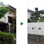 玄関先のマツの剪定~奈良県奈良市~