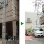 ゴールドクレスト伐採(植木の伐採)|電線に注意し伐採 大阪府門真市