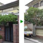 植木の剪定(伸び過ぎてしまったら…)大阪府大阪市旭区
