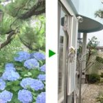 ツルが伸び放題だった庭の剪定 大阪府箕面市