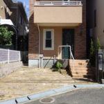 庭の雑草対策のために砂利敷き|敷石の間の雑草にお困り 奈良県奈良市