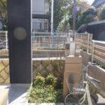 玄関前を植栽でオシャレにコーディネート 奈良県奈良市