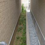 雑草対策|防草シート(彩植兼美)施工  大阪府堺市北区