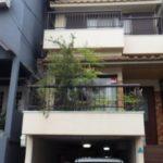 屋上の庭の改修工事|植木が大きくならないように剪定 大阪府大阪市淀川区