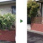 フェンスのツタを除去して欲しい|ジャスミンの伐採 大阪府堺市堺区