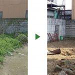 空き家の荒れた庭の草木をきれいに撤去~草刈りと木の伐採~ 大阪府堺市南区