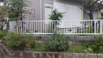 新しい フェンス