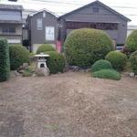 剪定後のお庭