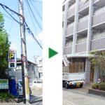 7mのクスノキの剪定とイラガ対策の薬剤散布 奈良県生駒市
